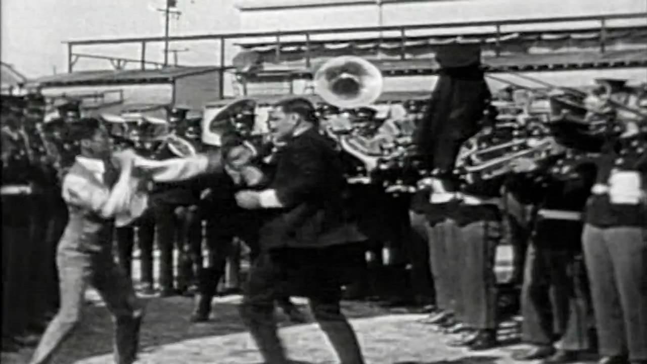 Charlie Chaplin Knocks Out Jack Dempsey