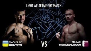 APB Exhibition Bout (64kg) promo – Vyacheslav Kyslytsyn (UKR) vs Thulasi Tharumalingam (QAT)