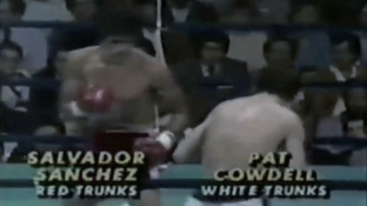 Salvador Sanchez vs Pat Cowdell (1981 12 12)