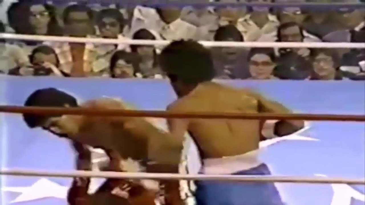 Salvador Sanchez vs Wilfredo Gomez(1981 08 21)The sixth defense of the champion title  A magnificent