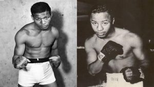 Sugar Ray Robinson & Johnny Bratton – Footwork / Defense