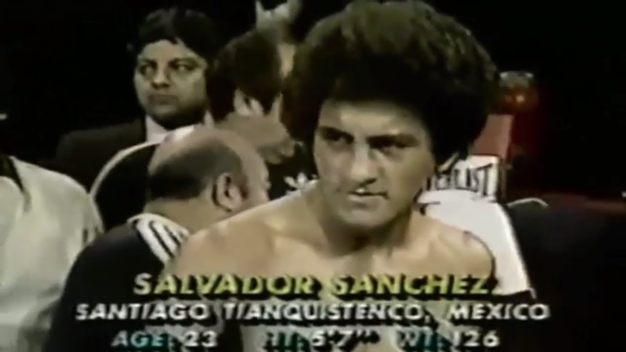 "Salvador Sanchez vs Jorge ""Rocky"" Garcia(1982 05 08) – Eighth title defense"