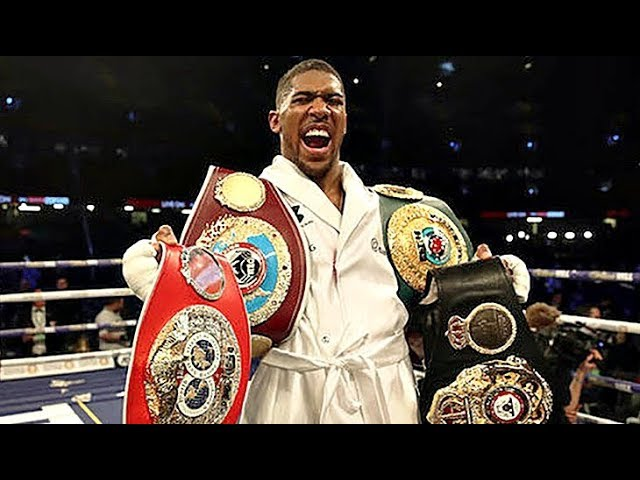 Anthony Joshua All Knockouts (21-0)