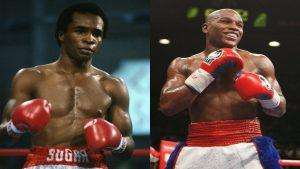 Fantasy Fight: Sugar Ray Leonard vs Floyd Mayweather Jr
