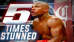 5 Times Floyd Mayweather was Stunned