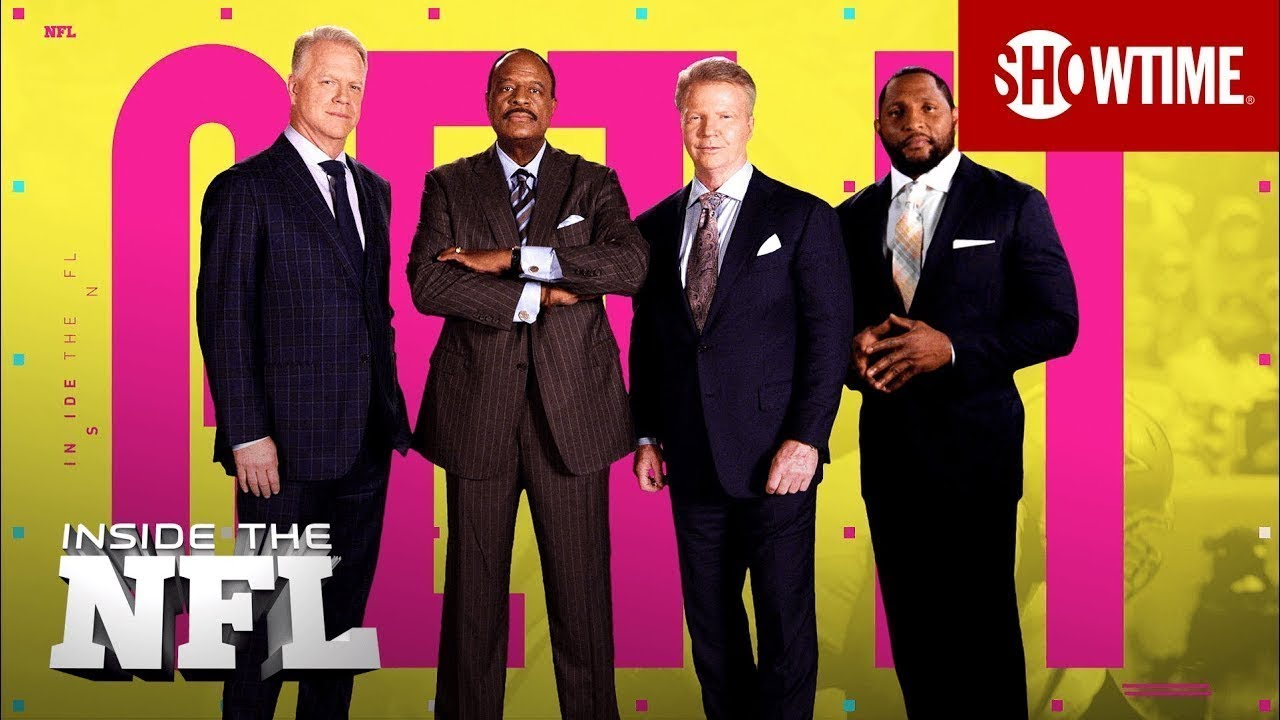 INSIDE THE NFL is Back.   Premieres Sept. 4th on SHOWTIME
