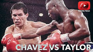 Julio Cesar Chavez vs Meldrick Taylor fight of the decade | Boxing Greatest hit