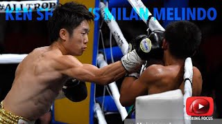 Ken Shiro vs Milan Melindo | Boxing WBC Light flyweight world title bout