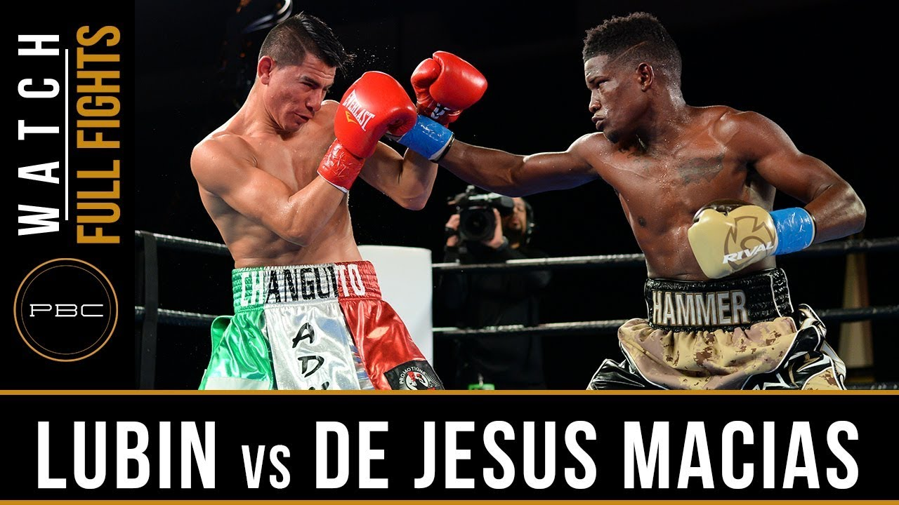 Lubin vs De Jesus Macias Full Fight: January 31, 2016 – PBC on Bounce
