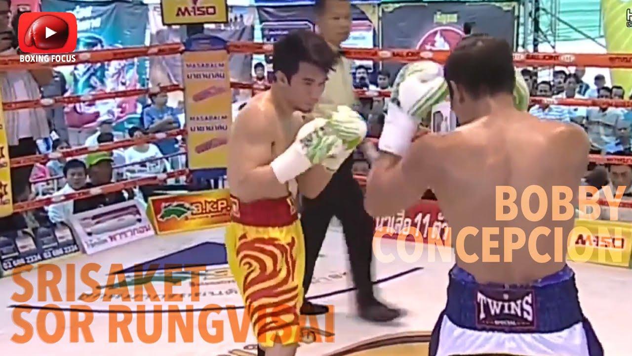 Srisaket Sor Rungvisai VS Bobby Concepcion | Boxing WBC super flyweight champion KO