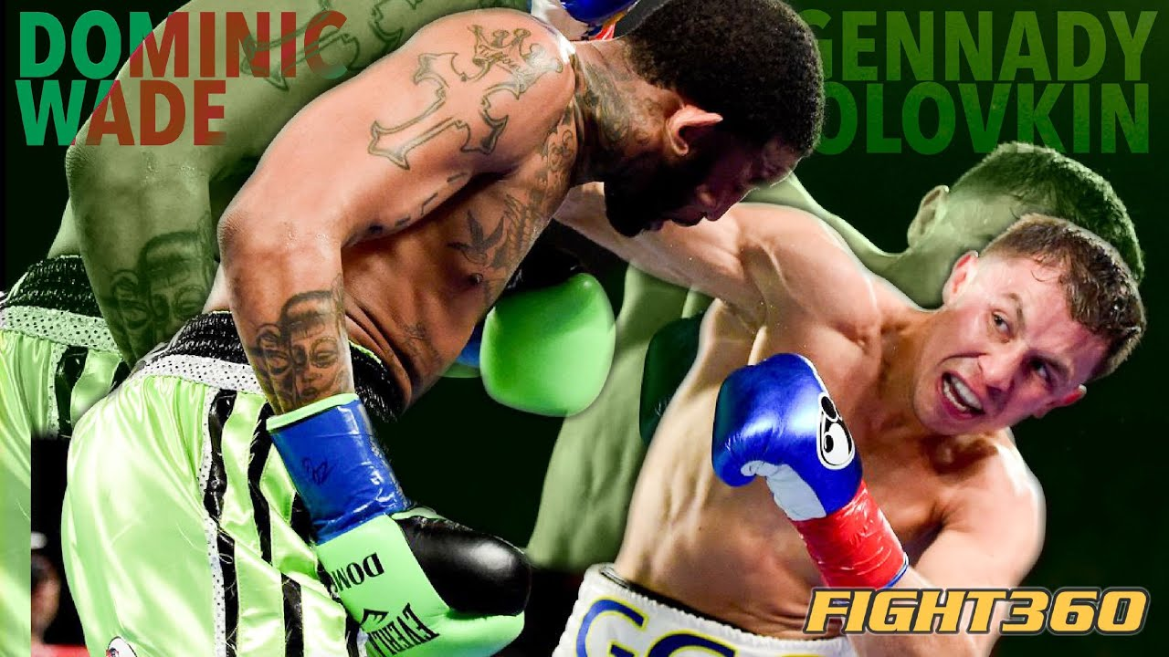 Triple GGG Gennady Golovkin VS Dominic Wade fight highlights | boxing focus