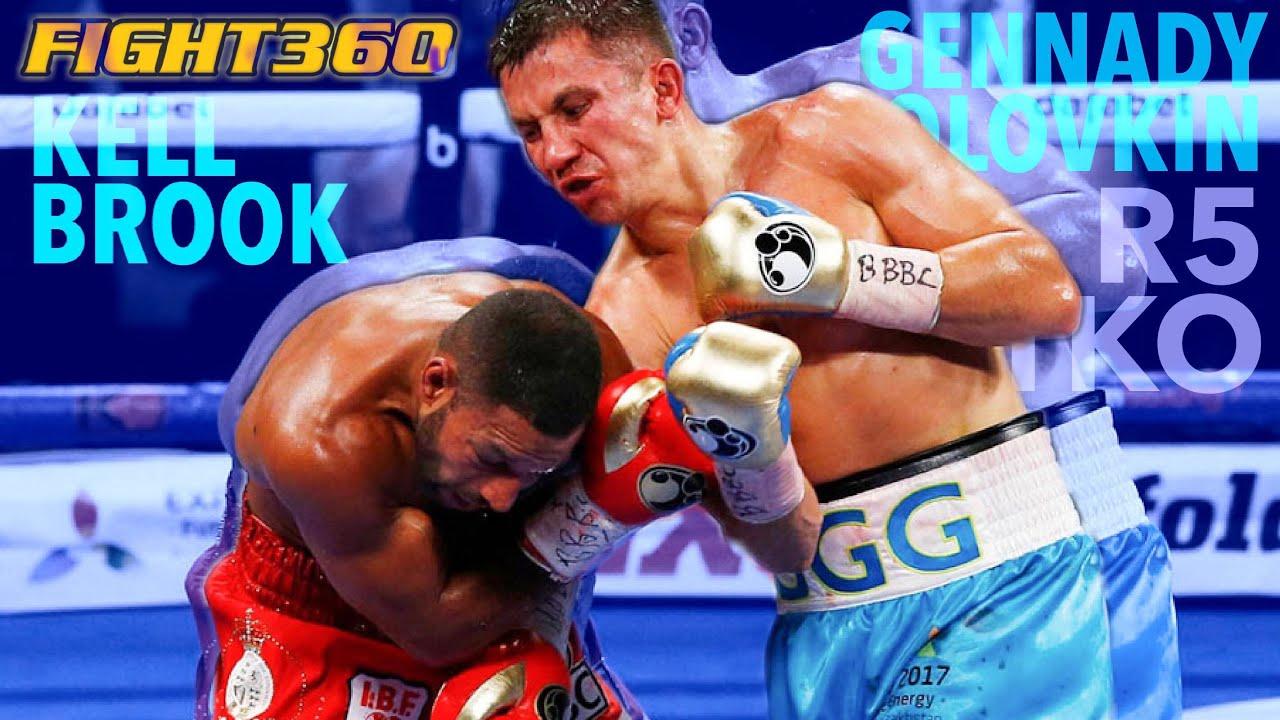 Triple GGG Gennady Golovkin vs Kell Brooks Highlight | Boxing
