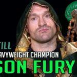 Tyson Fury is still the lineal heavyweight world champion