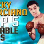 Rocky Marciano – Top 5 Notable Wins
