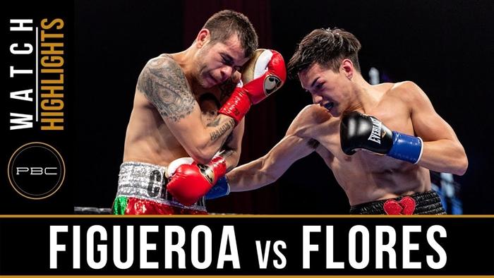 Figueroa vs Flores HIGHLIGHTS: January 13, 2019 – PBC on FS1