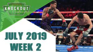 Boxing Knockouts   July 2019 Week 2