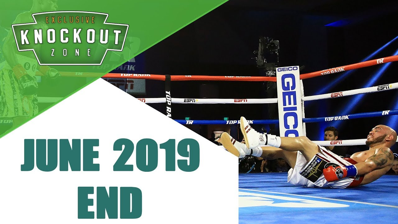 Boxing Knockouts | June 2019 End