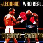 Hagler vs Leonard – Who Really Won?