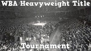 1967 WBA Heavyweight Tournament – Tribute