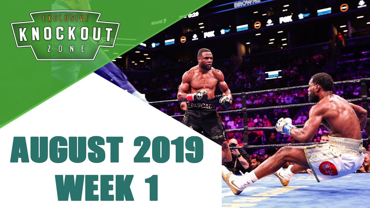 Boxing Knockouts | August 2019 Week 1