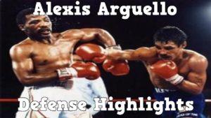 Alexis Arguello – Defense Highlights