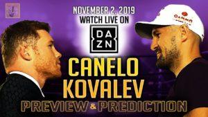Canelo Alvarez vs Sergey Kovalev – Preview & Prediction