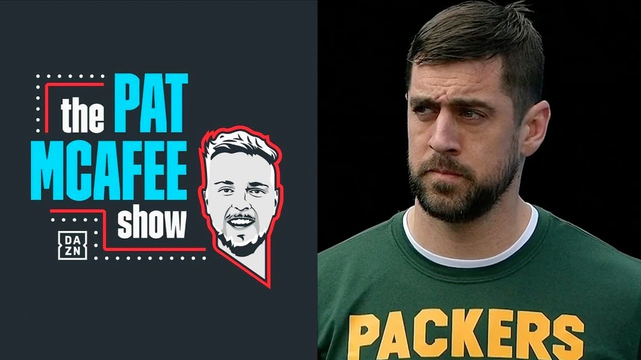 Aaron Rodgers and Pat McAfee Chat About Brett Favre and More
