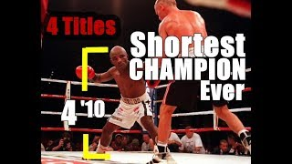 Baby Jacob Matlala-Shortest Boxing Champion Ever