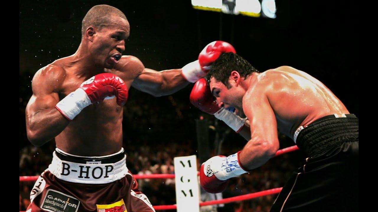 Bernard Hopkins vs Oscar De La Hoya – Highlights (Body Shot KNOCKOUT)