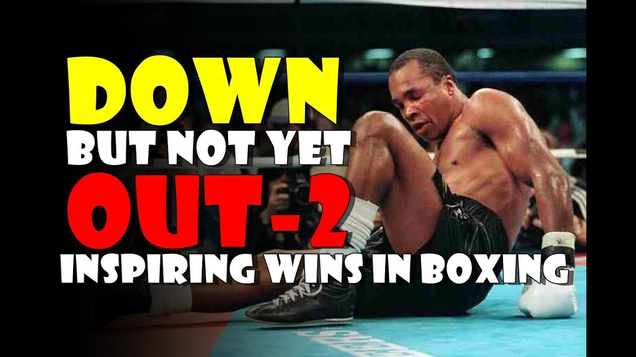 Down But Not Yet OUT 2! The Most Inspiring Comeback Wins in Boxing