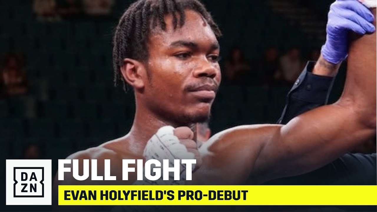 FULL FIGHT | Evander Holyfield's Son, Evan, Makes Pro-Debut