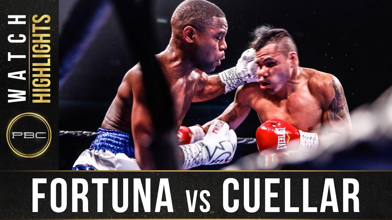 Fortuna vs Cuellar Highlights: November 2, 2019 – PBC on FS1