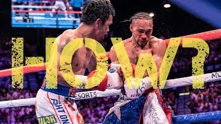 How Did Pacquiao Systematically Dismantle Thurman? | Fight Analysis |  Pacquiao vs Thurman