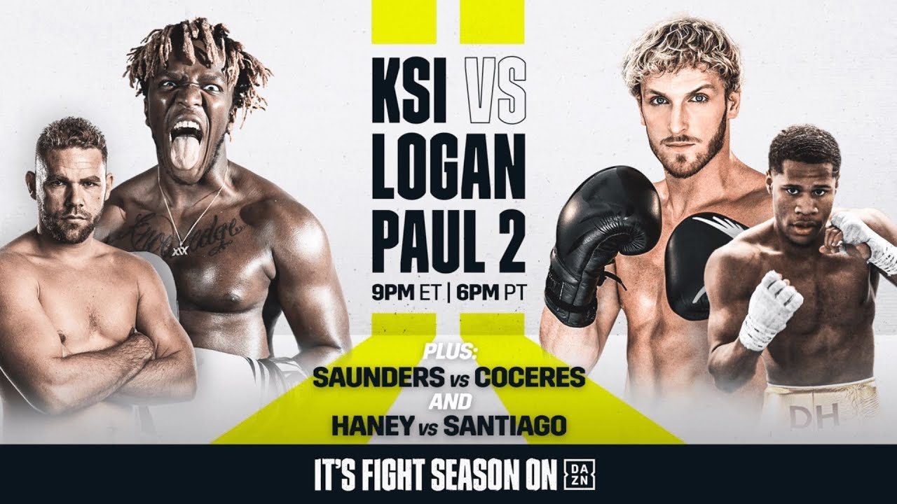 IT'S FIGHT WEEK | KSI vs. Logan Paul 2 (Ft. Billy Joe Saunders & Devin Haney)