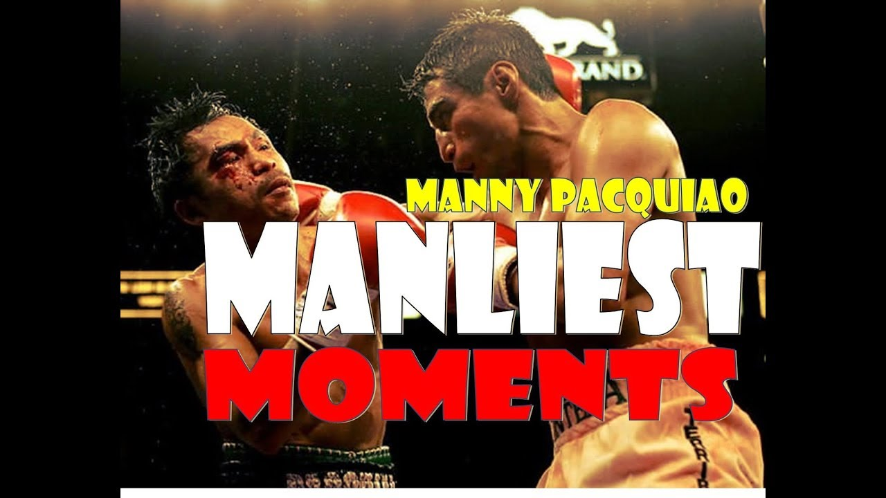 Manny Pacquiao Most Unforgettable Manliest Moments:Best Toe To Toe Fights