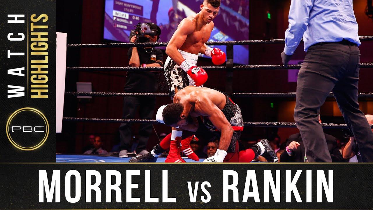 Morrell Jr vs Rankin Highlights: November 2, 2019 – PBC on FS1