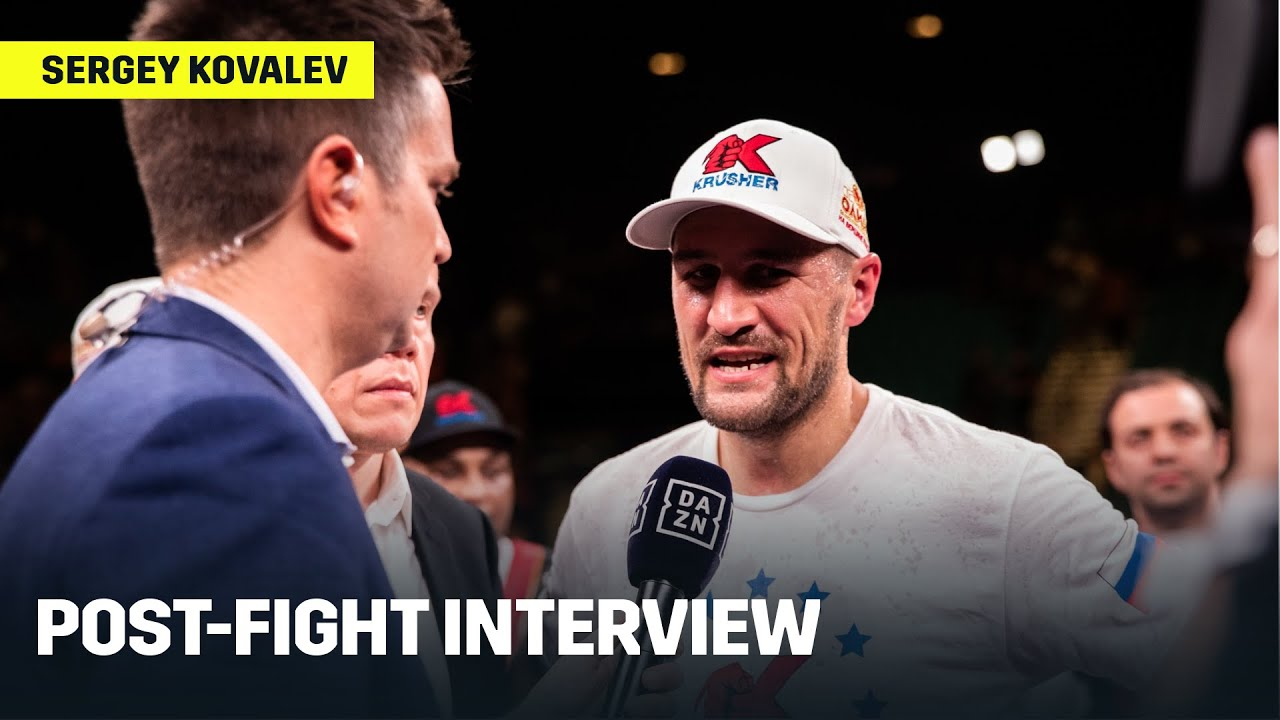 Sergey Kovalev Reacts To Loss Against Canelo