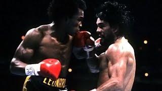 Sugar Ray Leonard vs Roberto Duran II – Highlights (NO MAS)