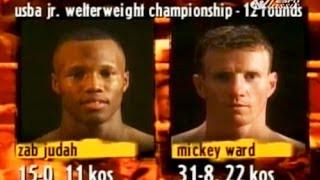 Zab Judah vs Micky Ward – Highlights (Underrated Fight)
