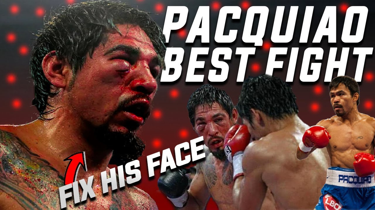 Manny Pacquiao Most Dominating Fight (Pacquiao vs Margarito)