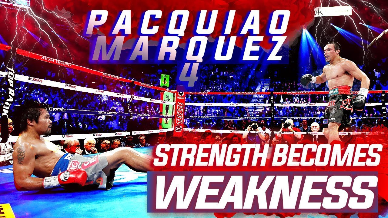 Manny Pacquiao vs Juan Manuel Marquez 4- Destructive Aggression