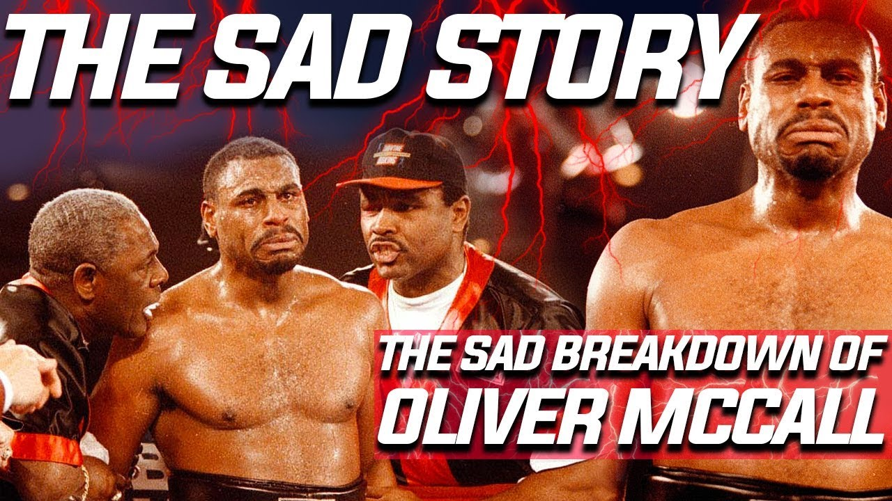 The Sad Story of Oliver McCall