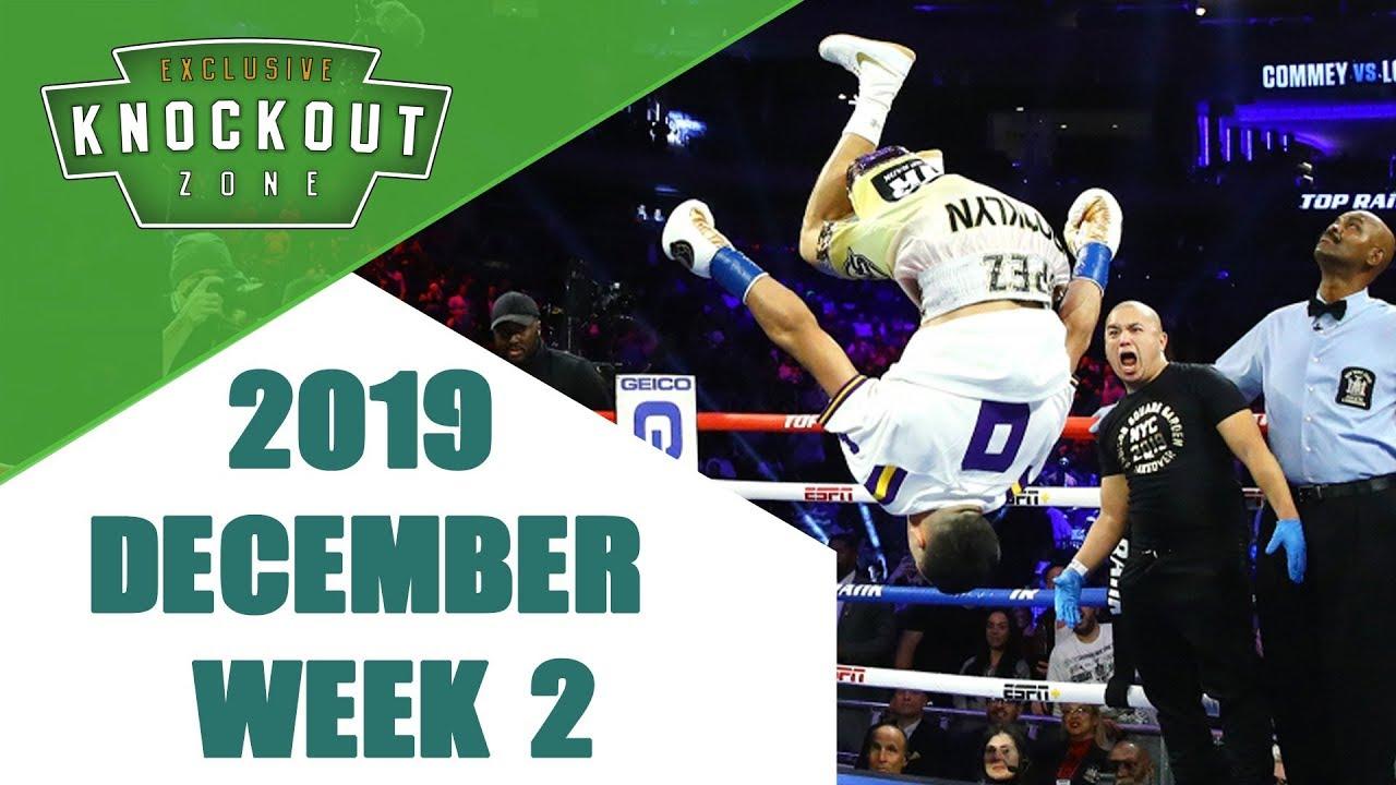 Boxing Knockouts | December 2019 Week 2
