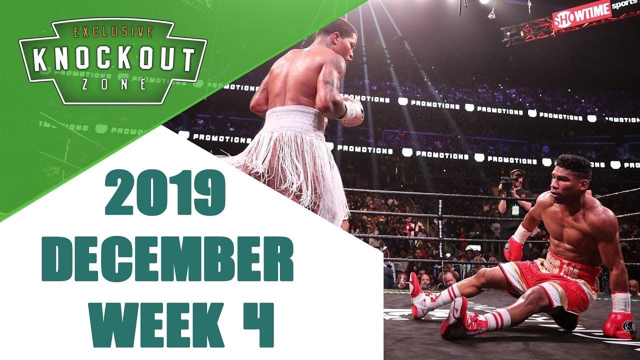 Boxing Knockouts | December 2019 Week 4