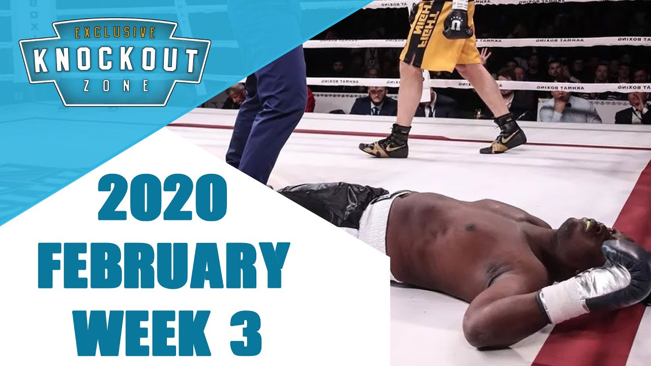 Boxing Knockouts | February 2020 Week 3