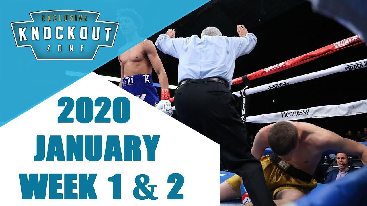 Boxing Knockouts | January 2020 Week 1 & 2