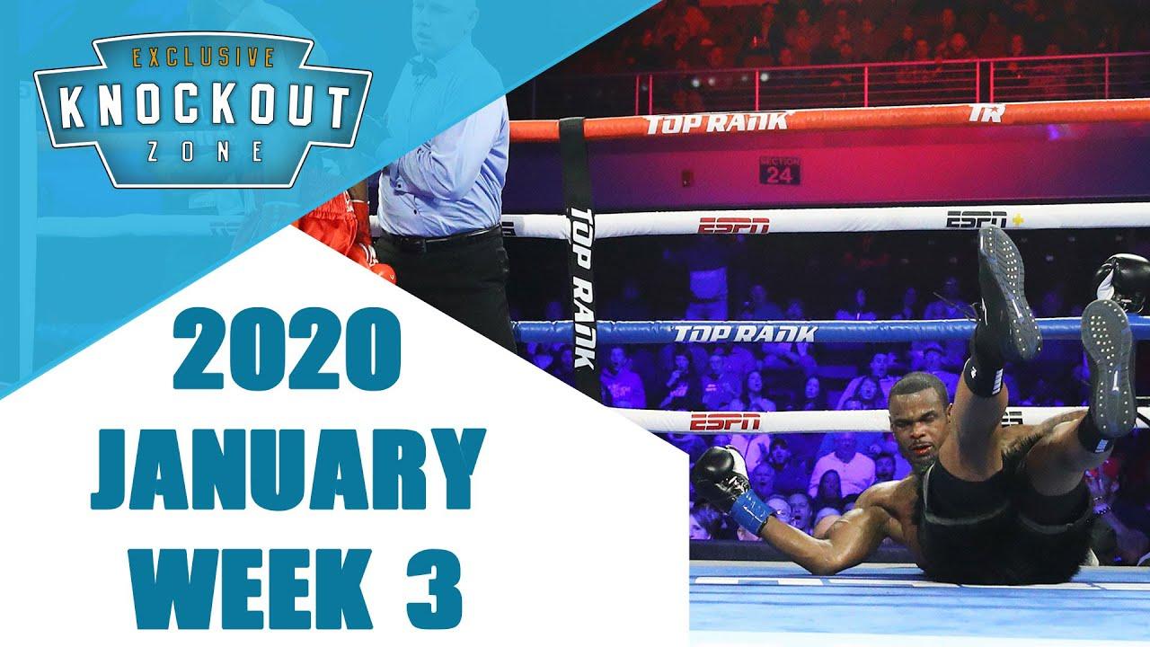 Boxing Knockouts | January 2020 Week 3