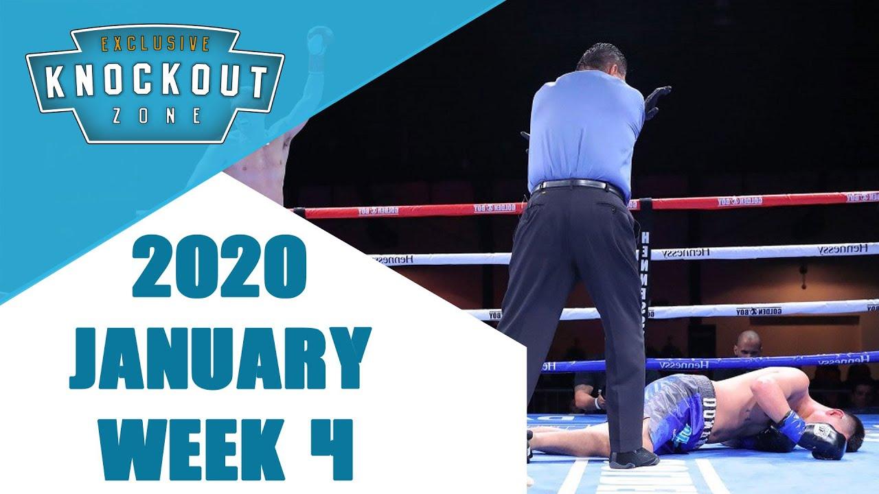 Boxing Knockouts | January 2020 Week 4