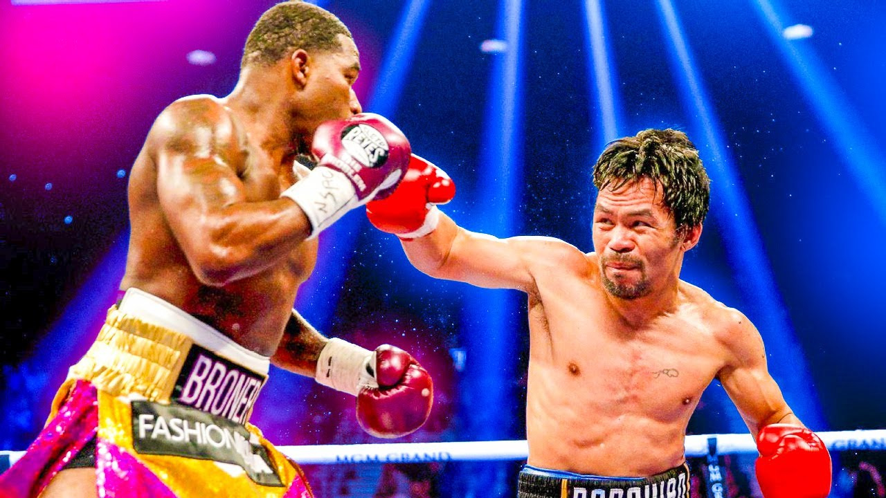 Manny Pacquiao Amazing Speed (Pacquiao vs Broner Highlights)