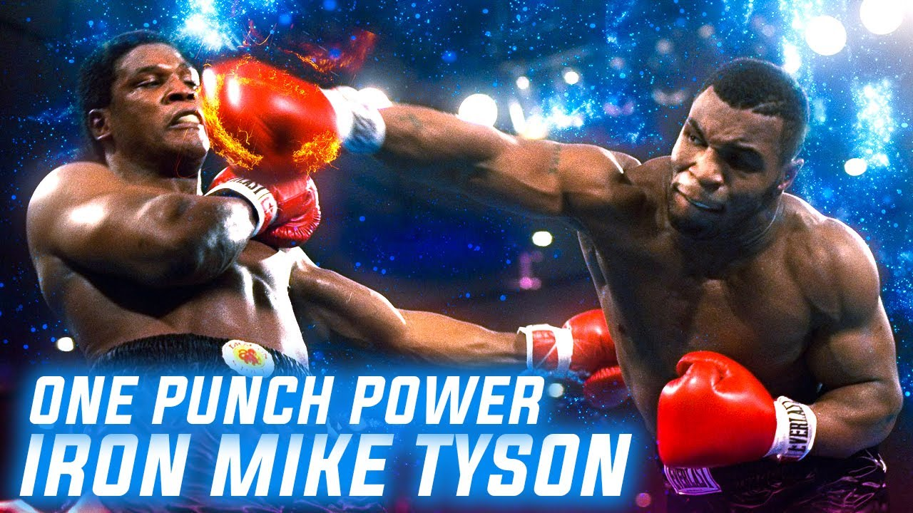 One Punch Power of Mike Tyson Highlights